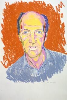 Allen Jones, by Clive Barker - NPG 5878