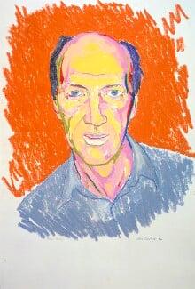 Allen Jones, by Clive Barker, 1984 - NPG  - © National Portrait Gallery, London