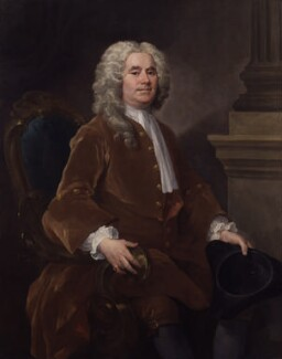 William Jones, by William Hogarth - NPG 5734