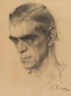 Boris Karloff, by Nicolai Fechin - NPG 5837