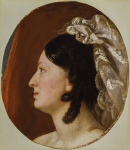 Fanny Kemble, by Peter Frederick Rothermel - NPG 5462