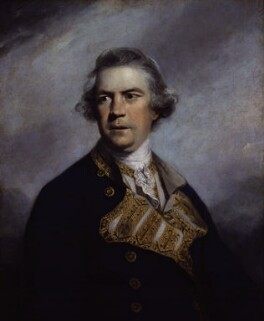 Augustus Keppel, Viscount Keppel, by Sir Joshua Reynolds - NPG 5572
