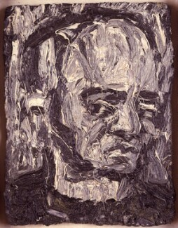 Leon Kossoff, by Leon Kossoff, 1981 - NPG 5772 - © National Portrait Gallery, London