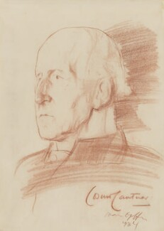 Cosmo Gordon Lang, Baron Lang of Lambeth, by Ivan Opffer - NPG 5444
