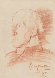 Cosmo Gordon Lang, Baron Lang of Lambeth, by Ivan Opffer, 1934 - NPG 5444 - © National Portrait Gallery, London