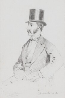 Henry Charles Keith Petty-Fitzmaurice, 5th Marquess of Lansdowne, by Frederick Sargent - NPG 5610