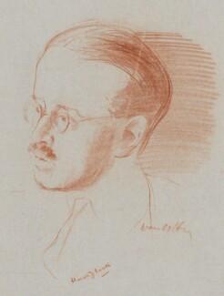 Harold Laski, by Ivan Opffer - NPG 5445