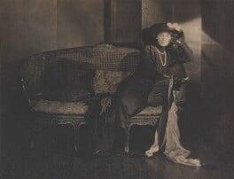 Hazel Lavery, by Baron Adolph de Meyer - NPG P164