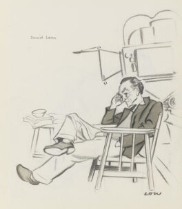 David Lean, by Sir David Low - NPG 5769