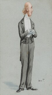 (William) Edward Hartpole Lecky, by Unknown artist - NPG 5839