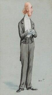 (William) Edward Hartpole Lecky, by Unknown artist,  - NPG 5839 - © National Portrait Gallery, London
