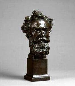 Alphonse Legros, by (Aimé) Jules Dalou, circa 1876 -NPG 5313 - © National Portrait Gallery, London