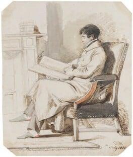 John Gibson Lockhart, by Daniel Maclise - NPG 5514