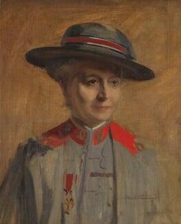 Dame (Emma) Maud McCarthy, by Frank Salisbury - NPG 5831