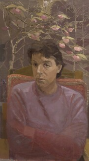 Paul McCartney, by Humphrey Ocean (Humphrey Anthony Erdeswick Butler-Bowdon), 1983 - NPG 5695 - © National Portrait Gallery, London