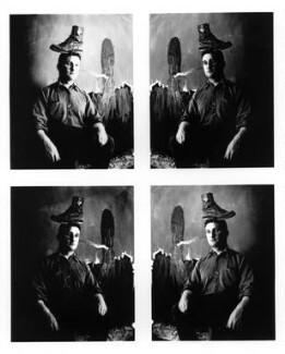 Bruce McLean, by Alastair Thain - NPG P855