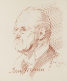 Tom Mann, by Ivan Opffer - NPG 5447