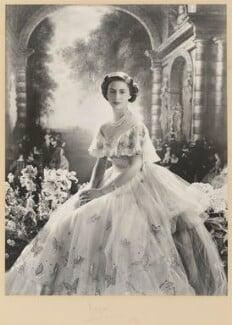 Princess Margaret, by Cecil Beaton, 1950 - NPG P349 - © V&A Images