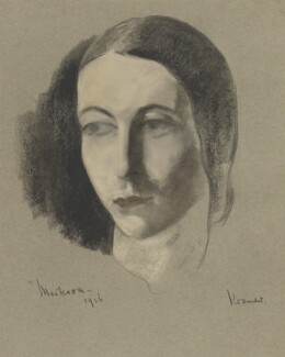 Alicia Markova, by Jacob Kramer - NPG 6549