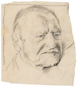 Somerset Maugham, by Graham Sutherland - NPG 5327