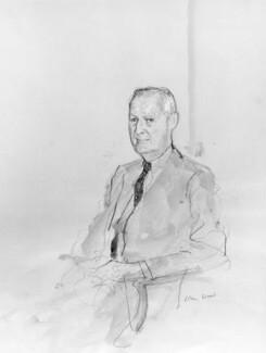 Paul Mellon, by John Stanton Ward - NPG 6008