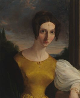 Harriet Mill (née Taylor), by Unknown artist - NPG 5489