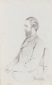William John Monson, 7th Baron Monson, by Frederick Sargent - NPG 5663