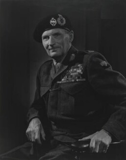 Bernard Law Montgomery, 1st Viscount Montgomery of Alamein, by Yousuf Karsh - NPG P249