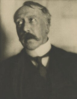 George Moore, by Alvin Langdon Coburn, 1908 - NPG  - © The Universal Order