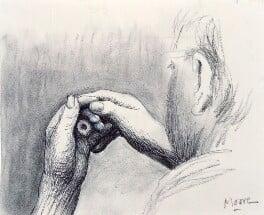 Henry Moore, by Henry Moore - NPG 5694