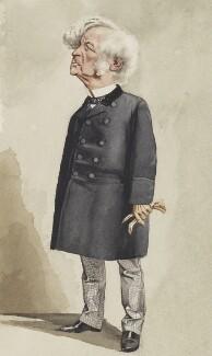 Samuel Morley, by Adriano Cecioni - NPG 5786