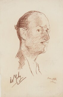 Oswald Mosley, by Ivan Opffer, 1932 - NPG 5448 - © National Portrait Gallery, London