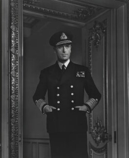Louis Mountbatten, Earl Mountbatten of Burma, by Yousuf Karsh - NPG P252
