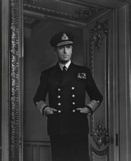 Louis Mountbatten, Earl Mountbatten of Burma, by Yousuf Karsh - NPG P252