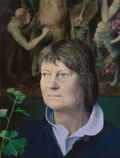 Iris Murdoch, by Tom Phillips - NPG 5921