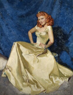 Anna Neagle, by McClelland Barclay, 1940 - NPG  - © National Portrait Gallery, London