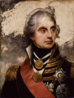 Horatio Nelson, by Sir William Beechey - NPG 5798