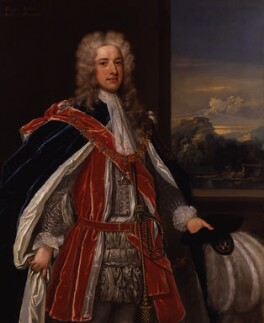 Thomas Pelham-Holles, 1st Duke of Newcastle-under-Lyne, attributed to Charles Jervas, circa 1721 - NPG 5582 - © National Portrait Gallery, London