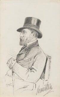 James Charles Herbert Welbore Ellis Agar, 3rd Earl of Normanton, by Frederick Sargent, 1870s or 1880s? - NPG 5665 - © National Portrait Gallery, London