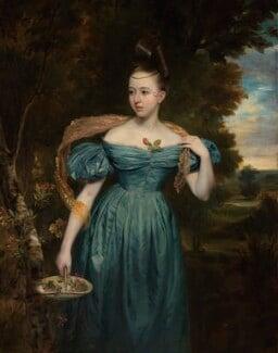 Clara Novello, by Edward Petre Novello, 1833 - NPG 5685 - © National Portrait Gallery, London