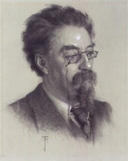 Sidney James Webb, Baron Passfield, by Jessie Holliday, circa 1909 - NPG 5938 - © National Portrait Gallery, London