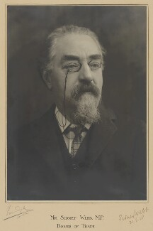 Sidney James Webb, Baron Passfield, by Vandyk, 1928 - NPG P328 - © National Portrait Gallery, London