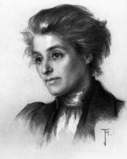 Beatrice Webb, by Jessie Holliday, circa 1909 - NPG 5939 - © National Portrait Gallery, London