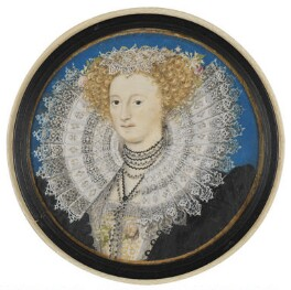 Mary Herbert, Countess of Pembroke, by Nicholas Hilliard, circa 1590 - NPG  - © National Portrait Gallery, London