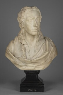 Alexander Pope, by John Michael Rysbrack, 1730 - NPG 5854 - © National Portrait Gallery, London