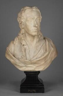 Alexander Pope, by John Michael Rysbrack, 1730 - NPG 5854 - © National Portrait Gallery, London