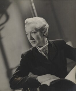 Dilys Powell, by Fred Daniels - NPG P394