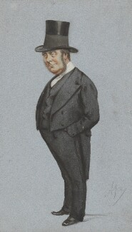 John Thomas Freeman-Mitford, 1st Earl of Redesdale, by Carlo Pellegrini - NPG 5311