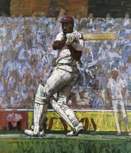 Viv Richards, by William Bowyer - NPG 5999