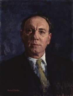 Sir Ralph Richardson, by Michael Noakes - NPG 6006